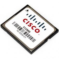 Cisco 3845 Series Flash Memory Options - MEM3800-512CF=